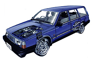 Picture of Volvo 740