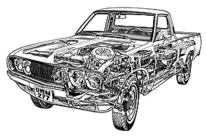 Picture of Datsun 620