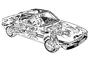 Picture of Fiat X-1/9