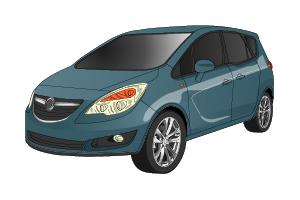 Picture of Opel Meriva