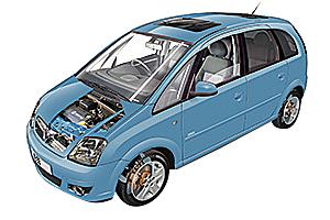 Picture of Vauxhall Meriva