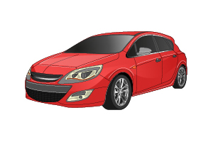 Picture of Opel Astra
