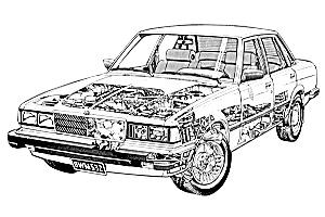 Picture of Toyota Cressida