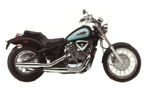Picture of Honda Motorcycle VT600CD Shadow VLX Deluxe