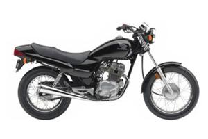 Picture of Honda Motorcycle CB250 Nighthawk