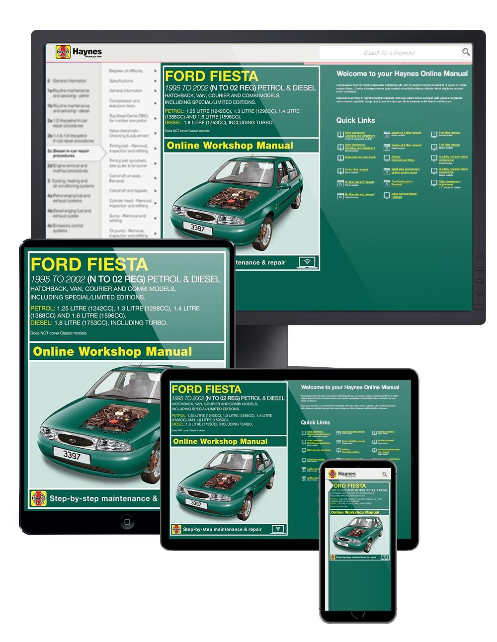 1992 Ford Festiva Original Electrical Vacuum Troubleshooting Manual