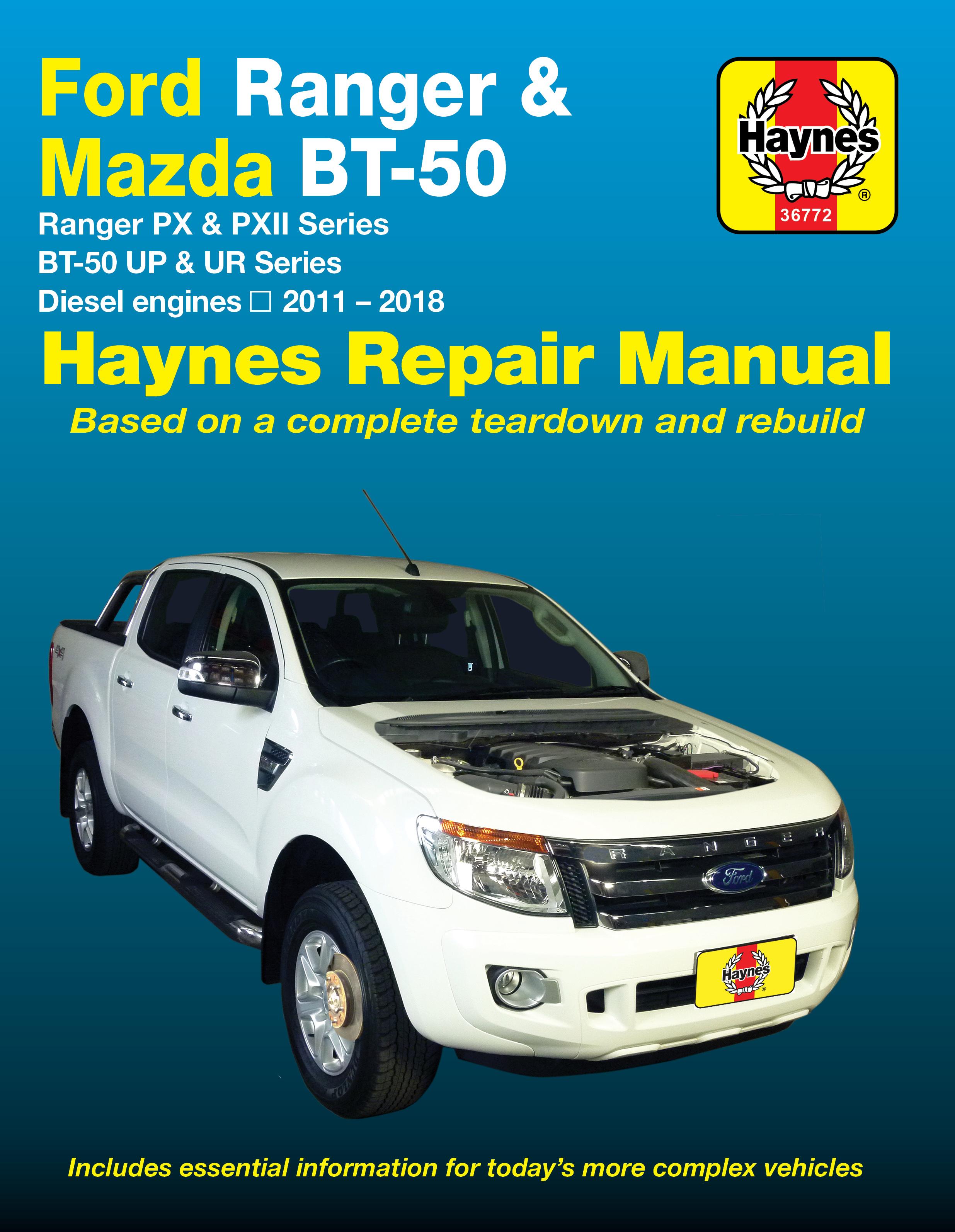 Bt 50 Haynes Manuals