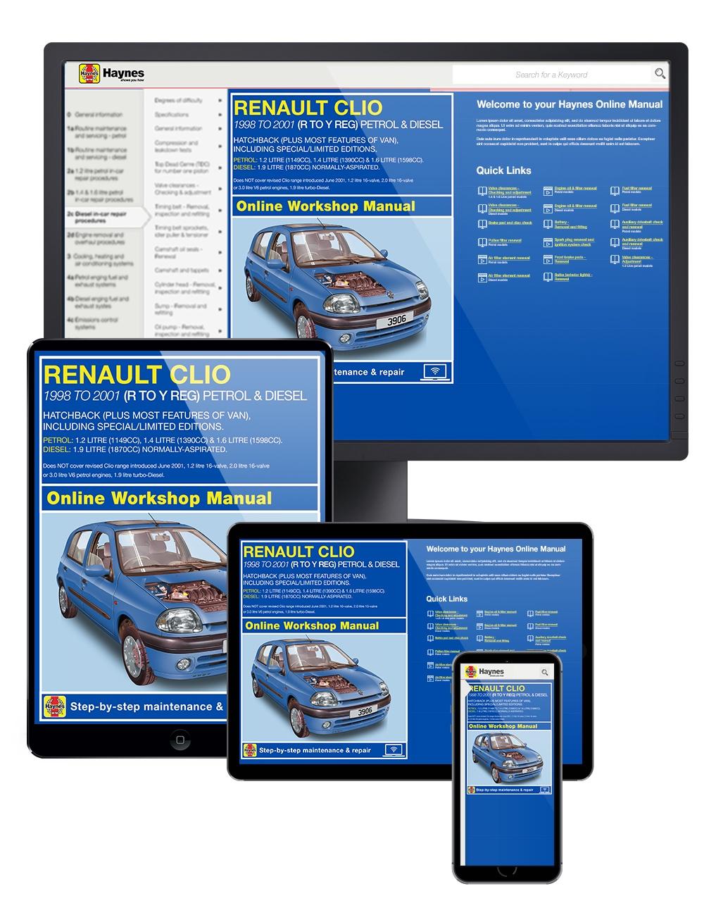 Enlarge Renault Clio ...