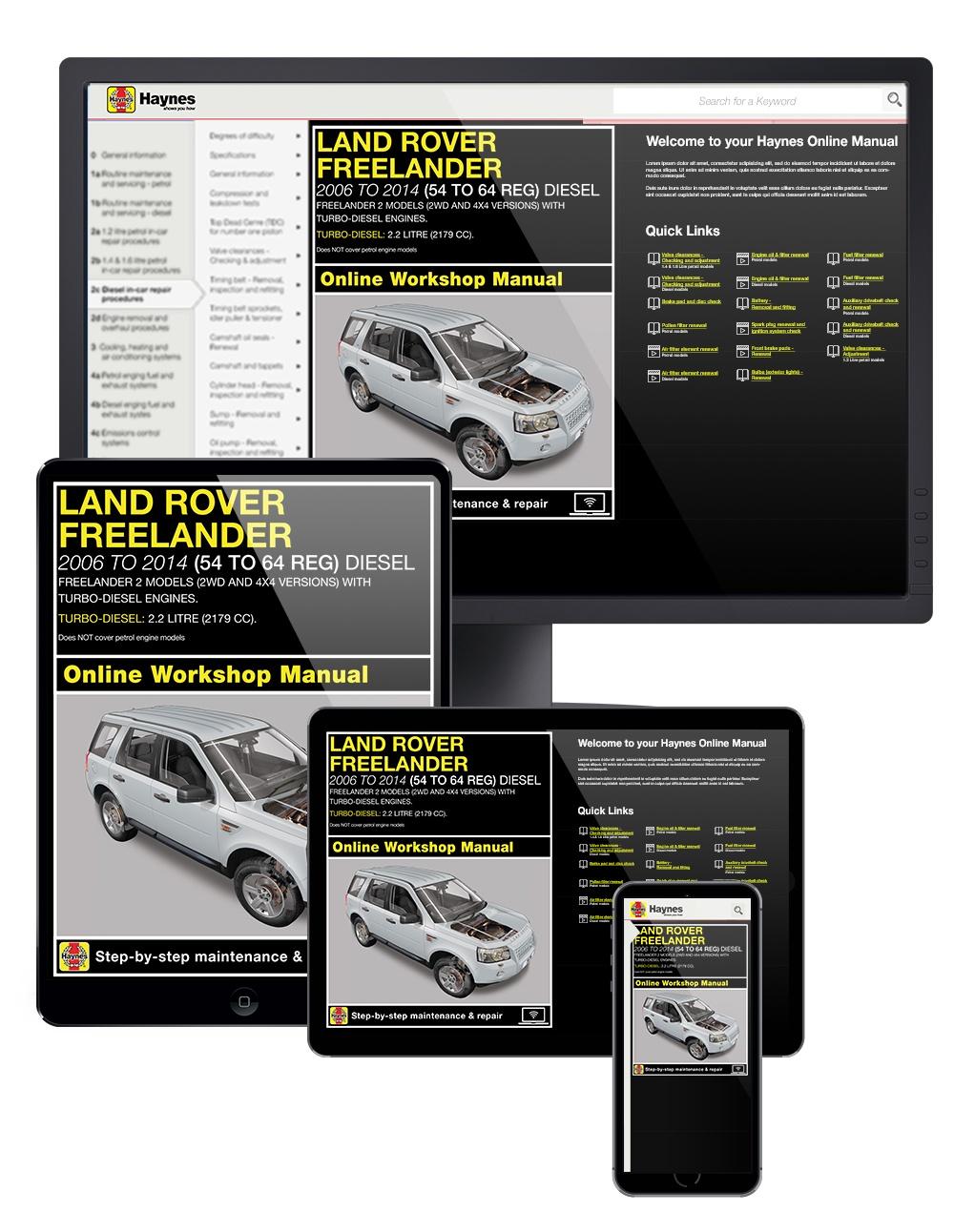 Enlarge Land Rover Freelander ...