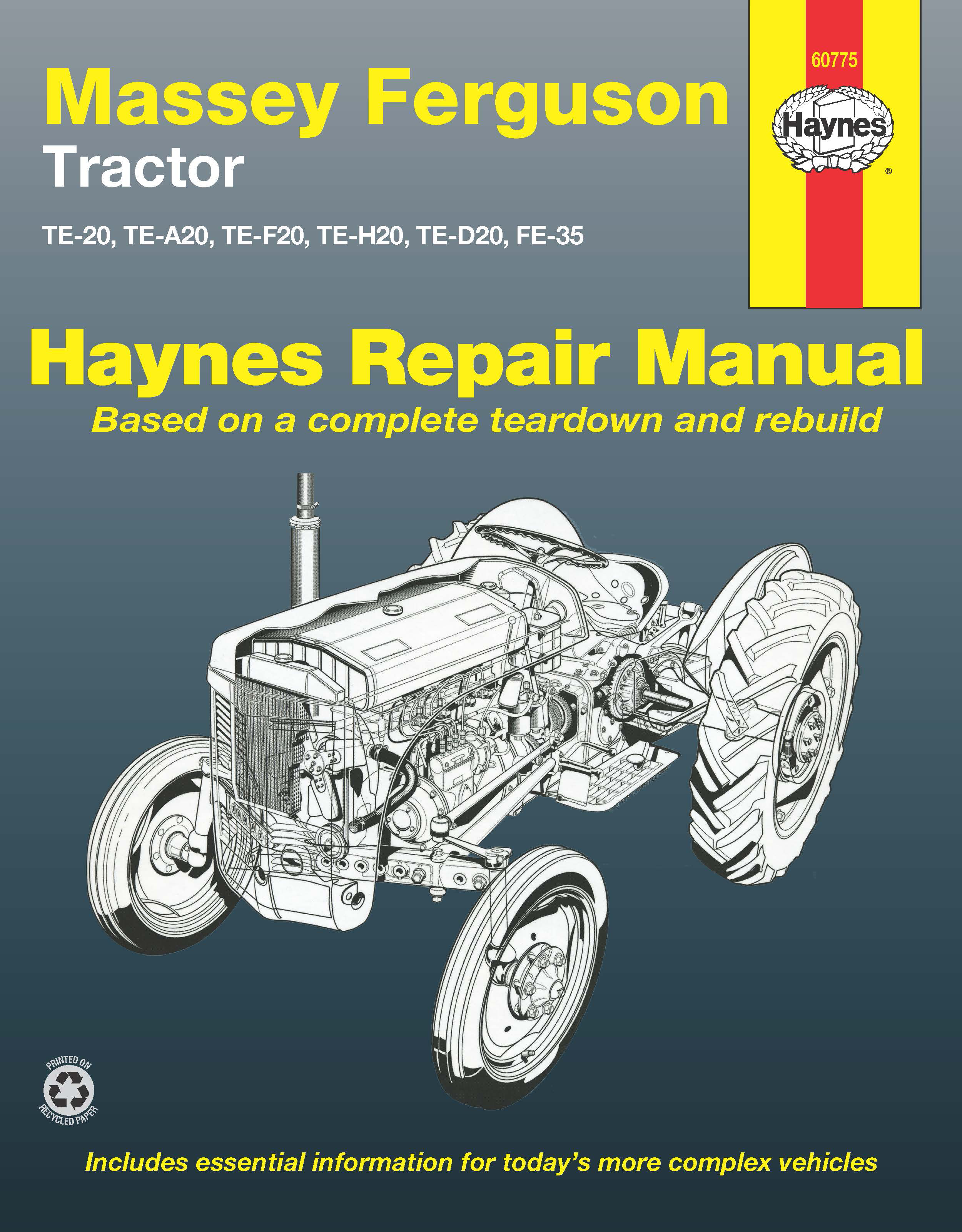 Massey Ferguson TE20 (1946 - 1956) Repair Manuals