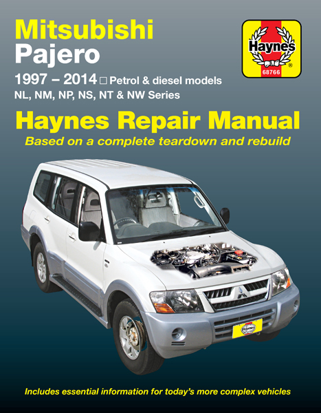 Pajero Haynes Manuals Mitsubishi Transmission Rebuilt Enlarge