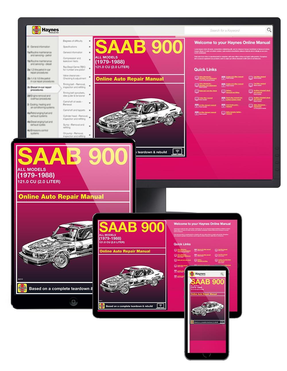 Saab 900 Sedan  U0026 Turbo  79