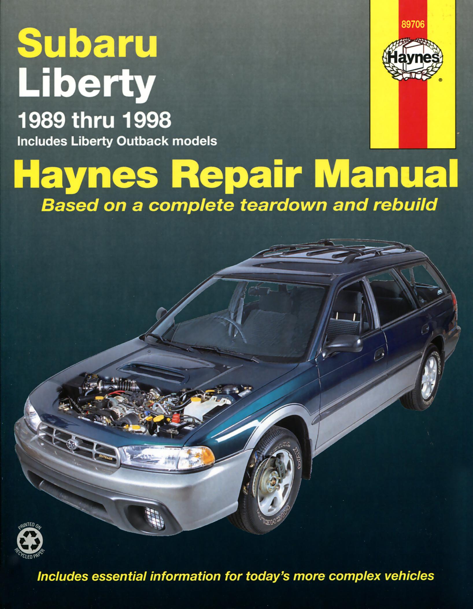 Enlarge Subaru Liberty ...