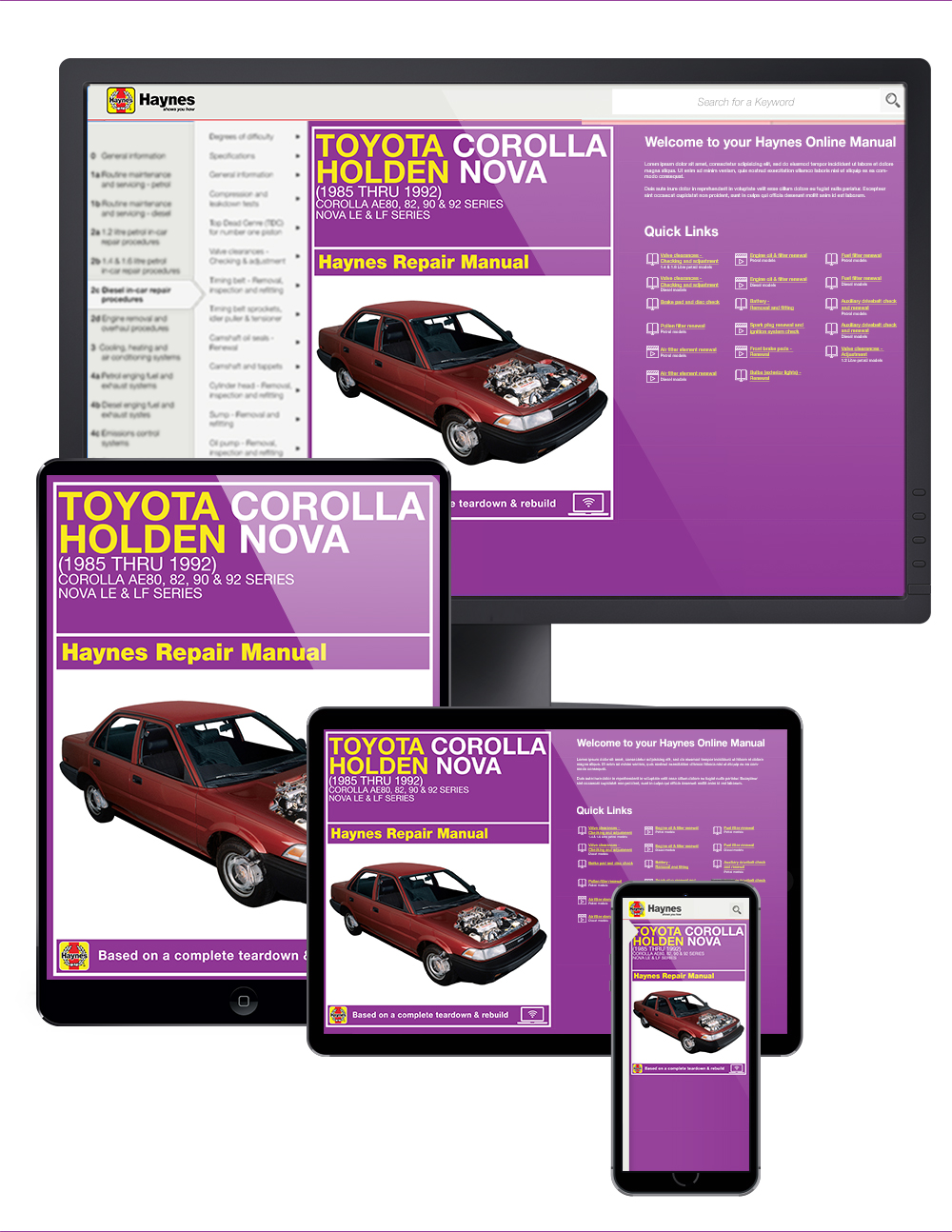 Corolla Haynes Manuals Toyota Electrical Wiring Diagram Manual 1999 0 Results You Enlarge