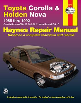 Corolla Haynes Manuals 1986 Toyota Mr2 Wiring Diagram Manual Original Enlarge