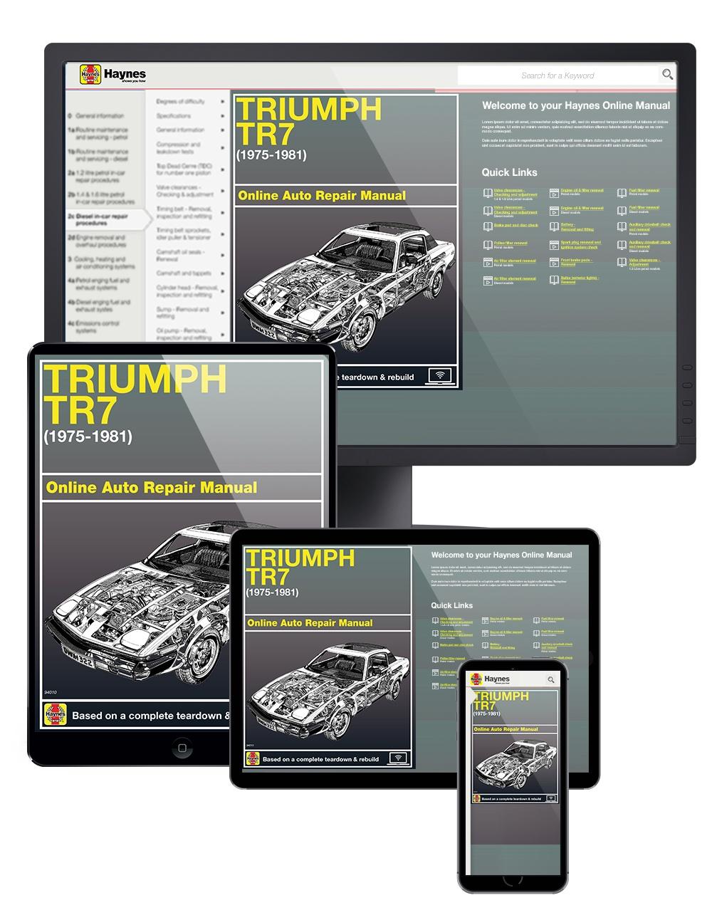 Triumph Tr7  75