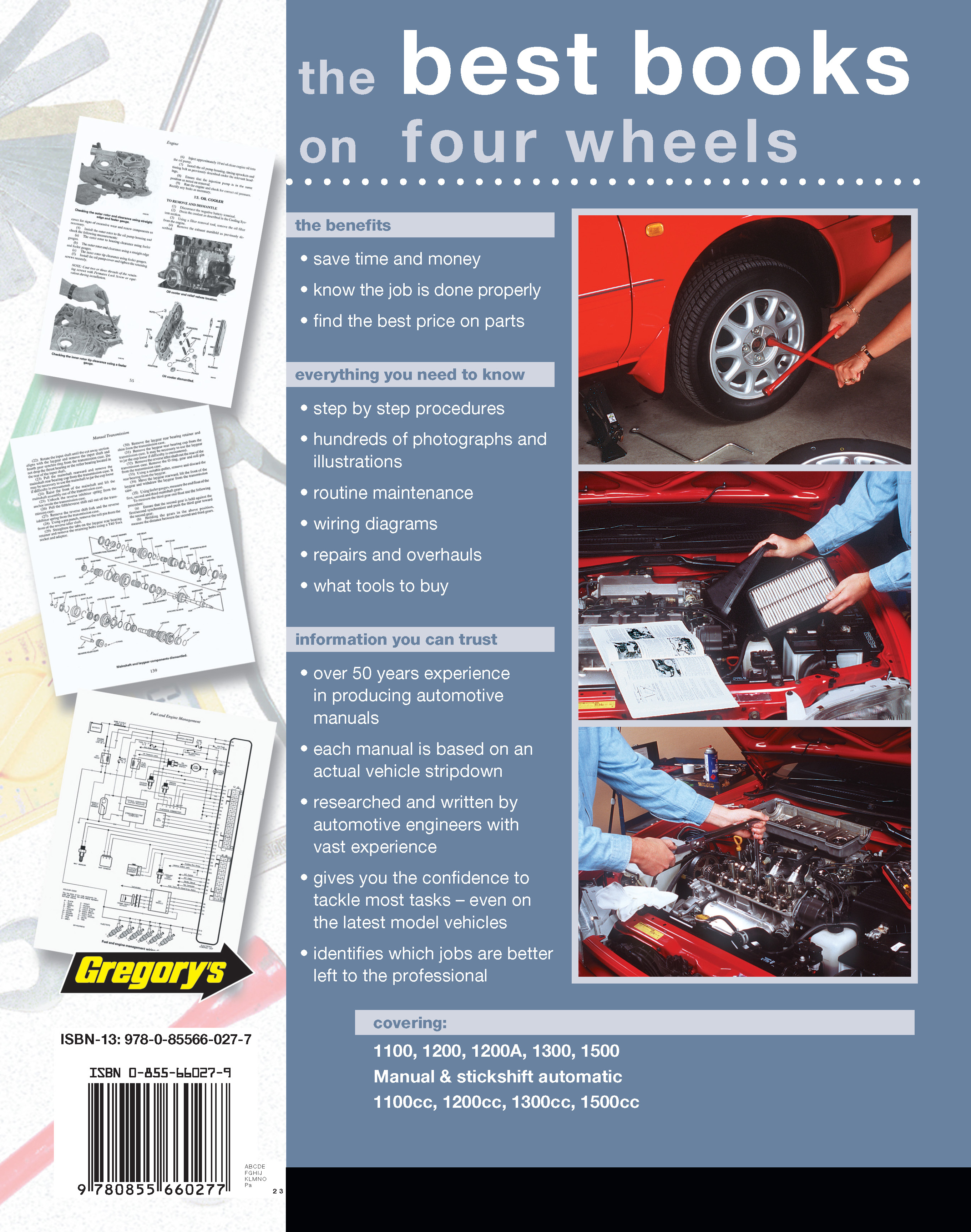 Volkswagen Beetle (1954 - 1971) Repair Manuals