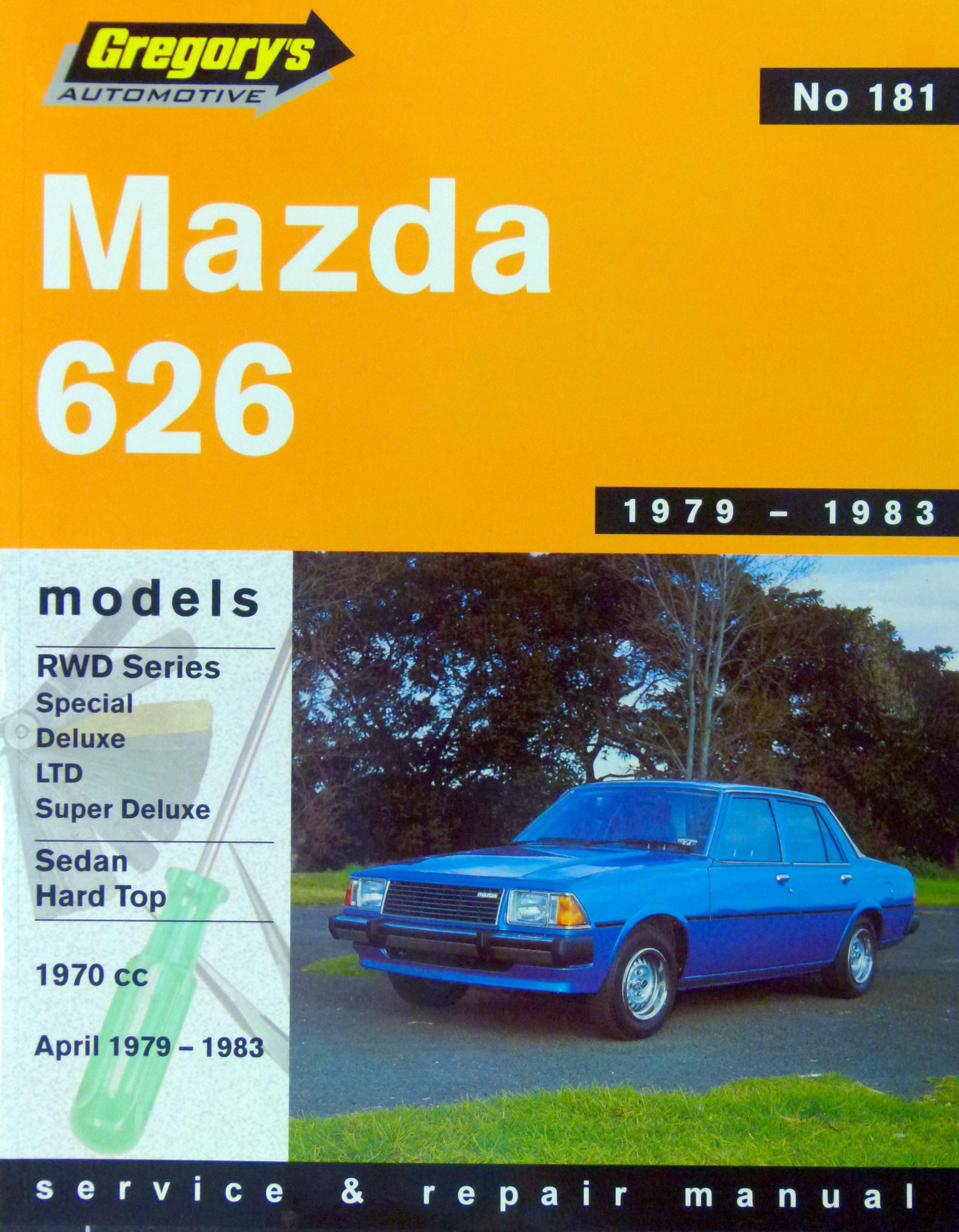 Enlarge Mazda 626 (79 - 83) Gregorys Repair Manual