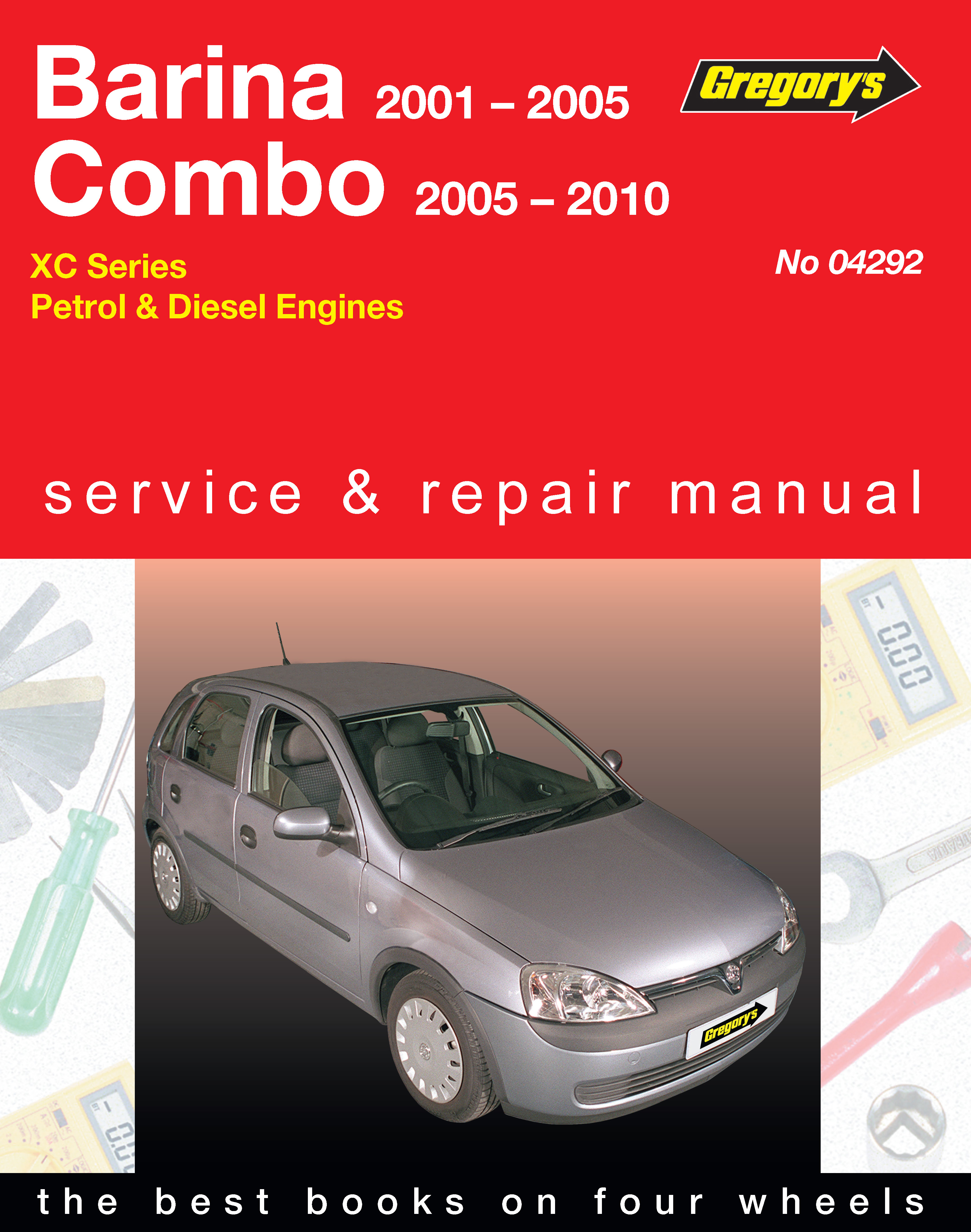 holden barina 01 05 and combo 01 10 petrol diesel rh haynes com DIY Car Repair Manuals gregory's automotive repair manuals