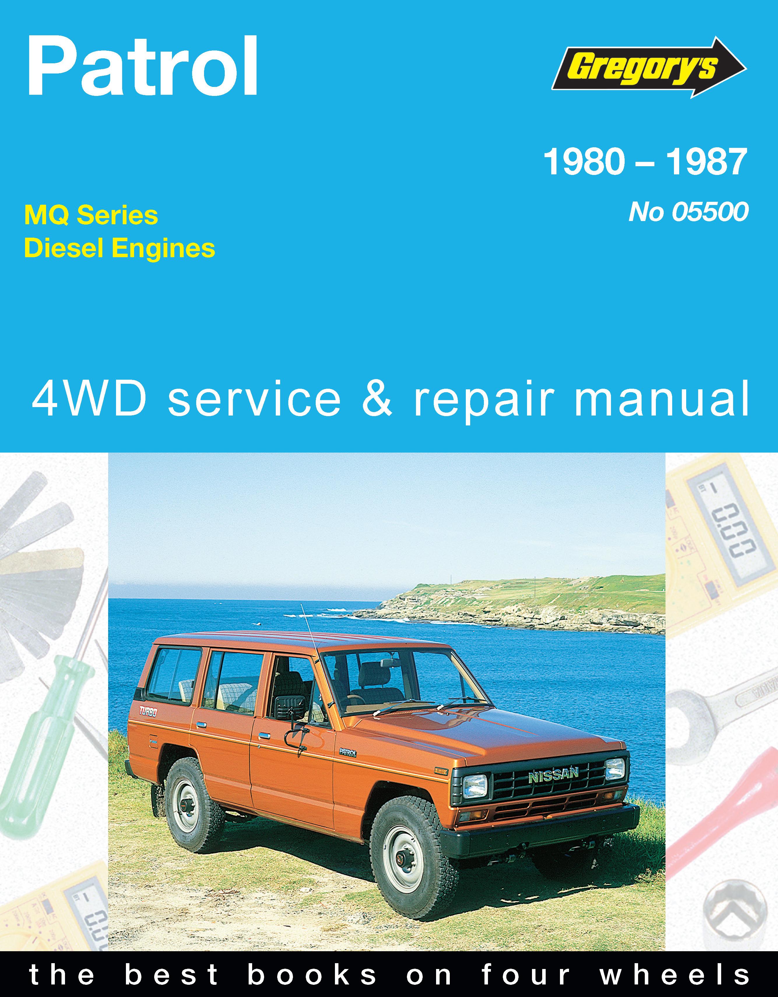nissan patrol diesel 80 87 gregorys repair manual haynes manuals rh haynes com patrol y61 service manual patrol y61 service manual