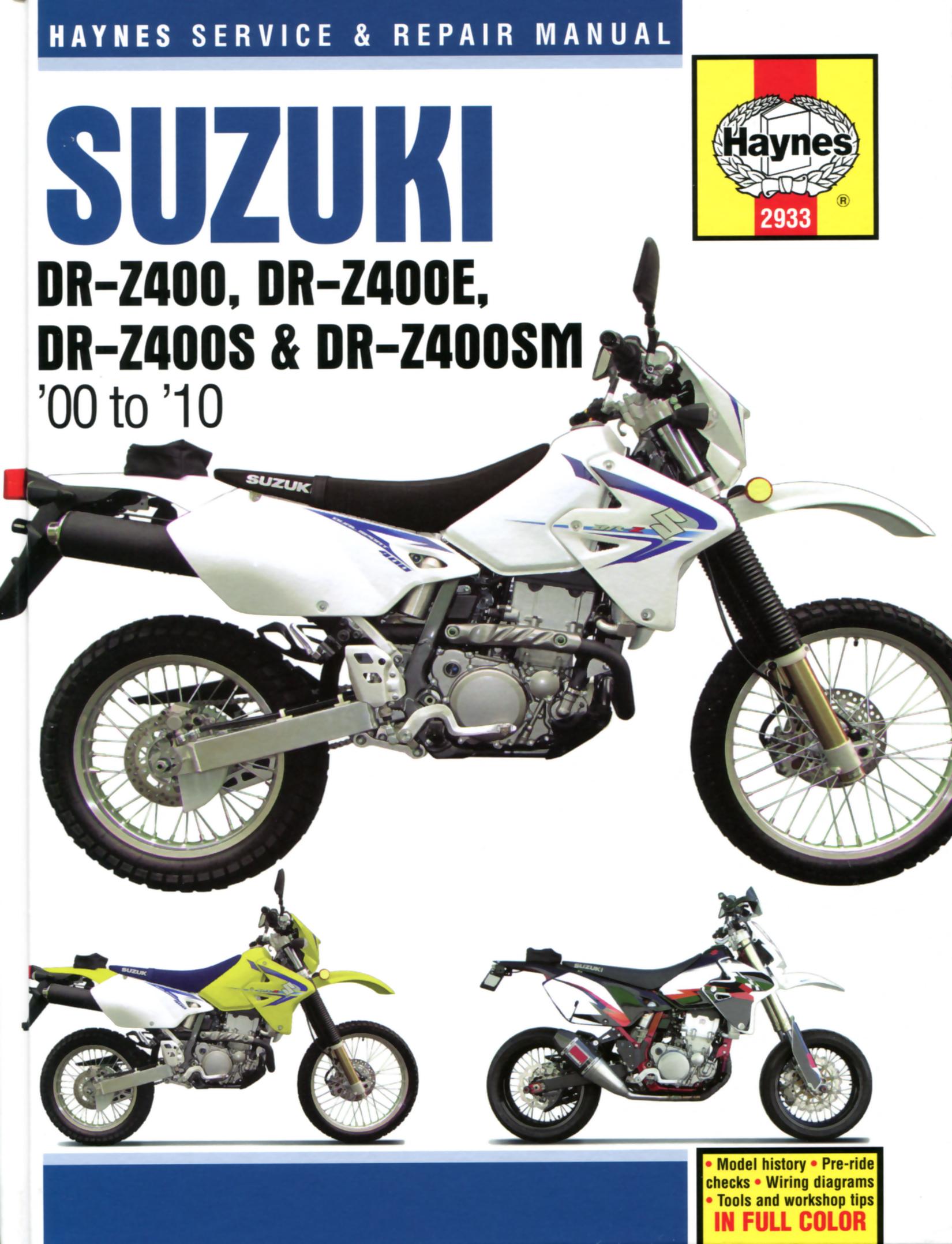 Ed3f978 Repair Manual 2005 Suzuki Z400 Wiring Library