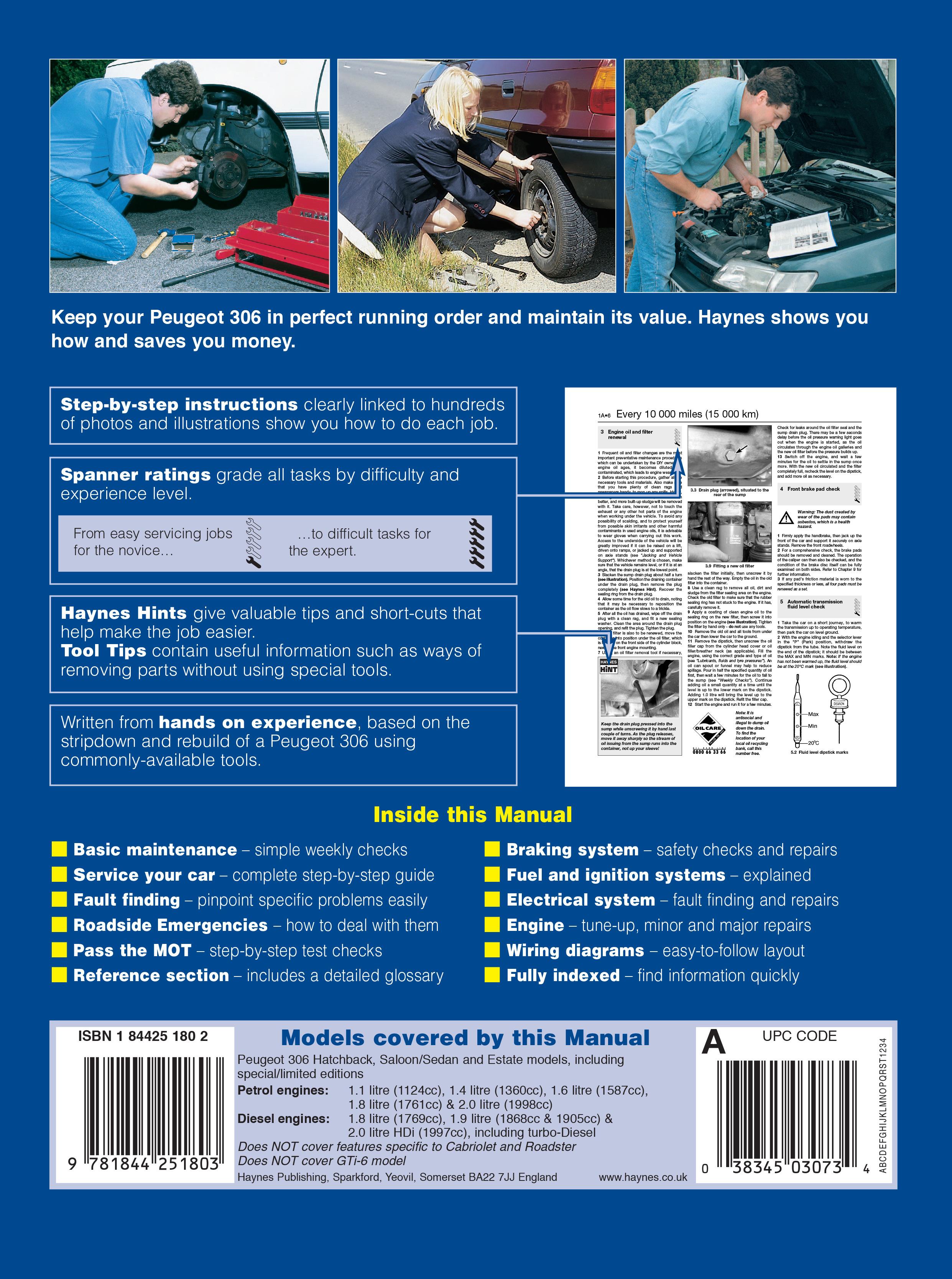 peugeot 306 haynes manual pdf free