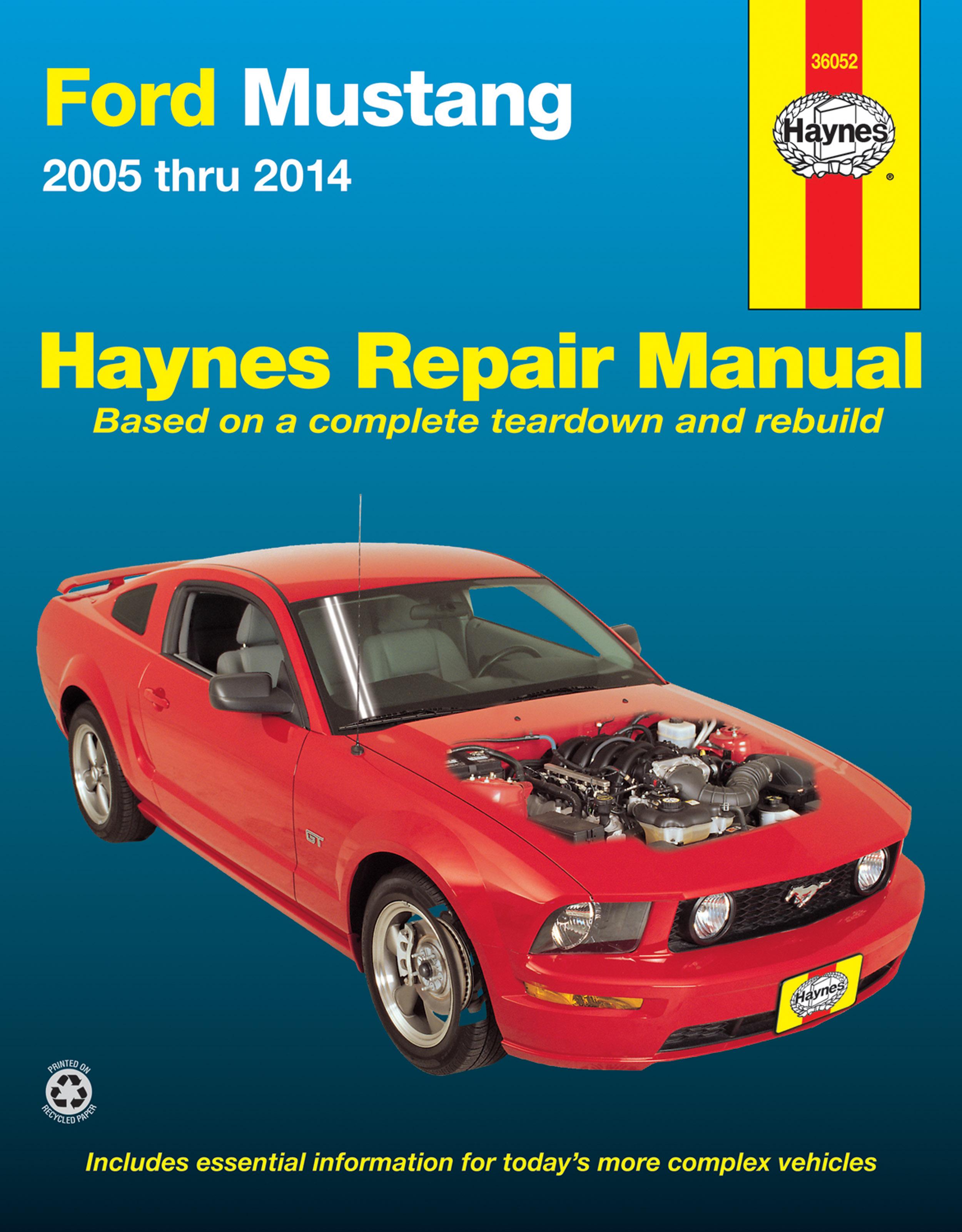 mustang 05 manual