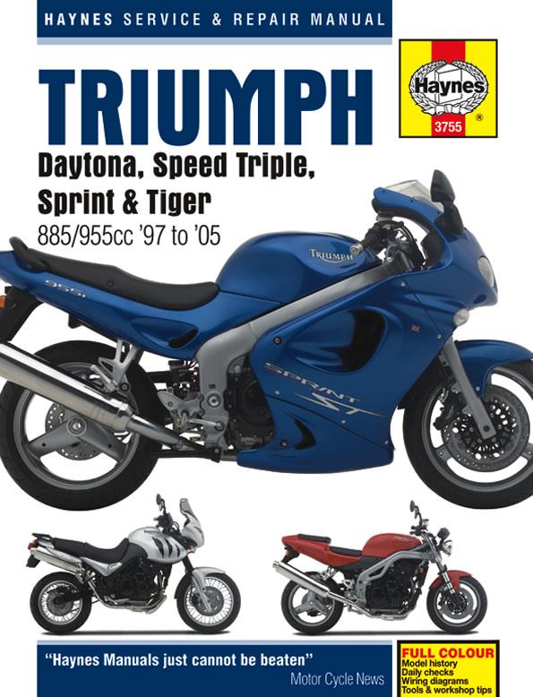 [ZHKZ_3066]  Daytona | Haynes Manuals | Triumph Sprint St Wiring Diagram |  | Haynes Manuals