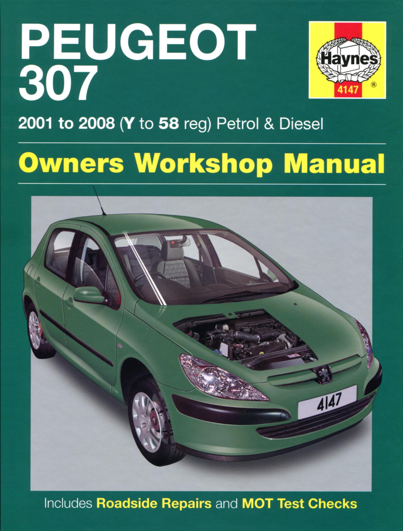 307 Haynes Manuals