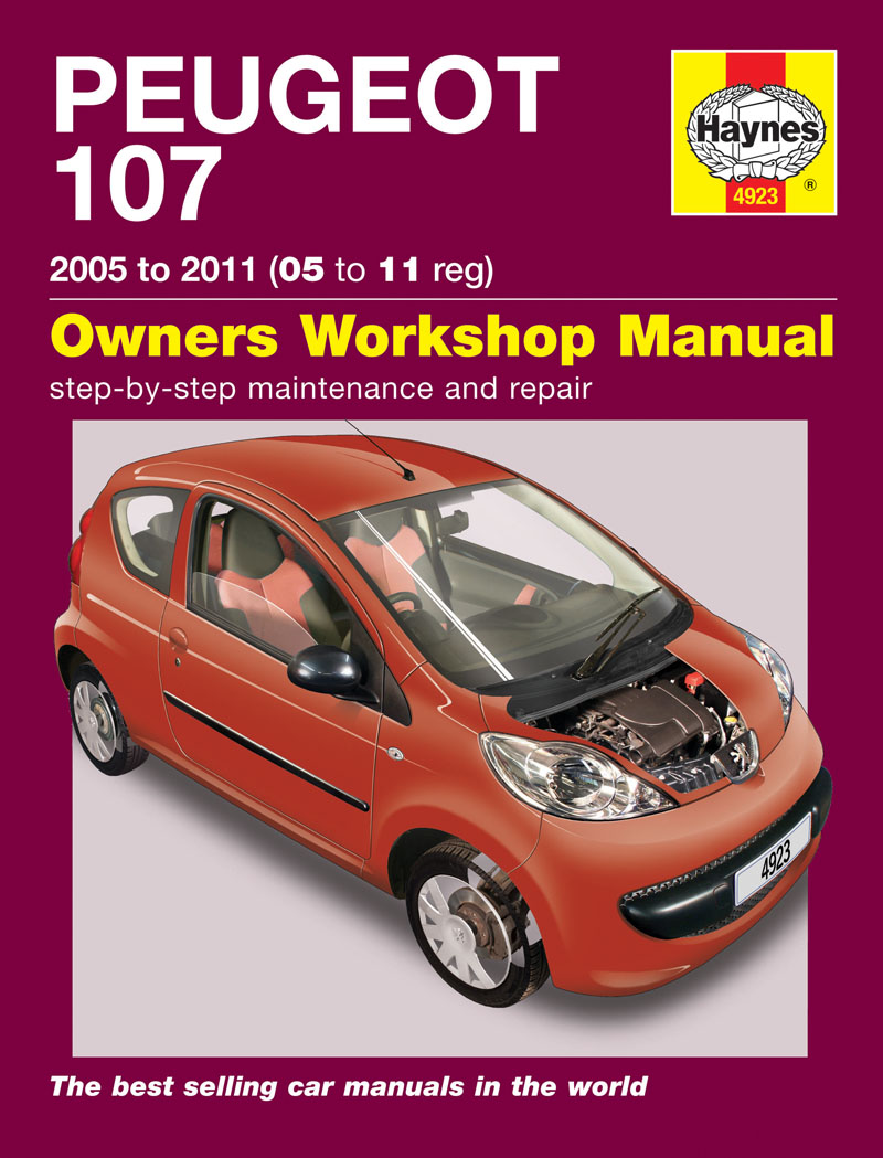 Enlarge Peugeot 107 Petrol (05 - 11) Haynes Repair Manual