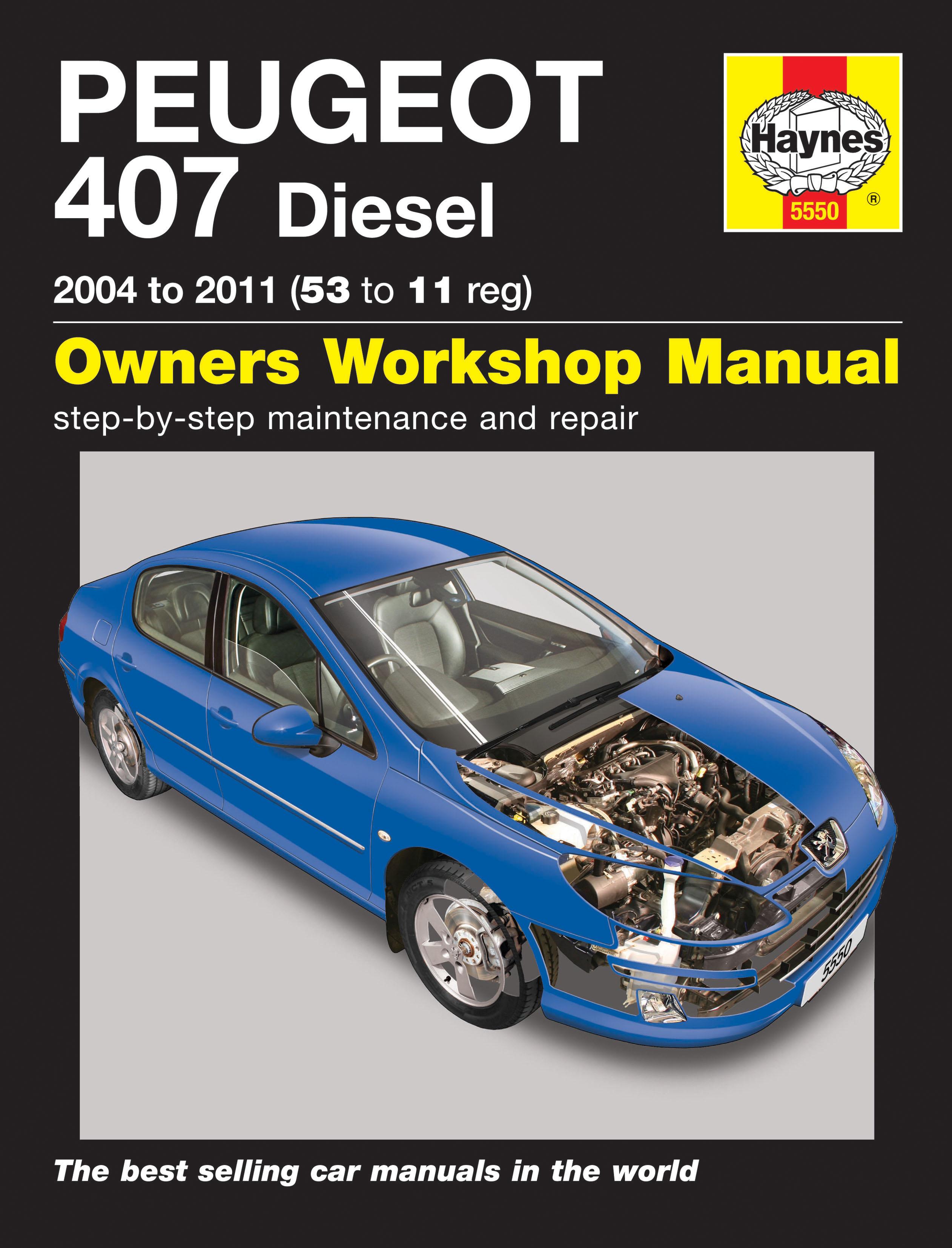 Peugeot 407 workshop manual