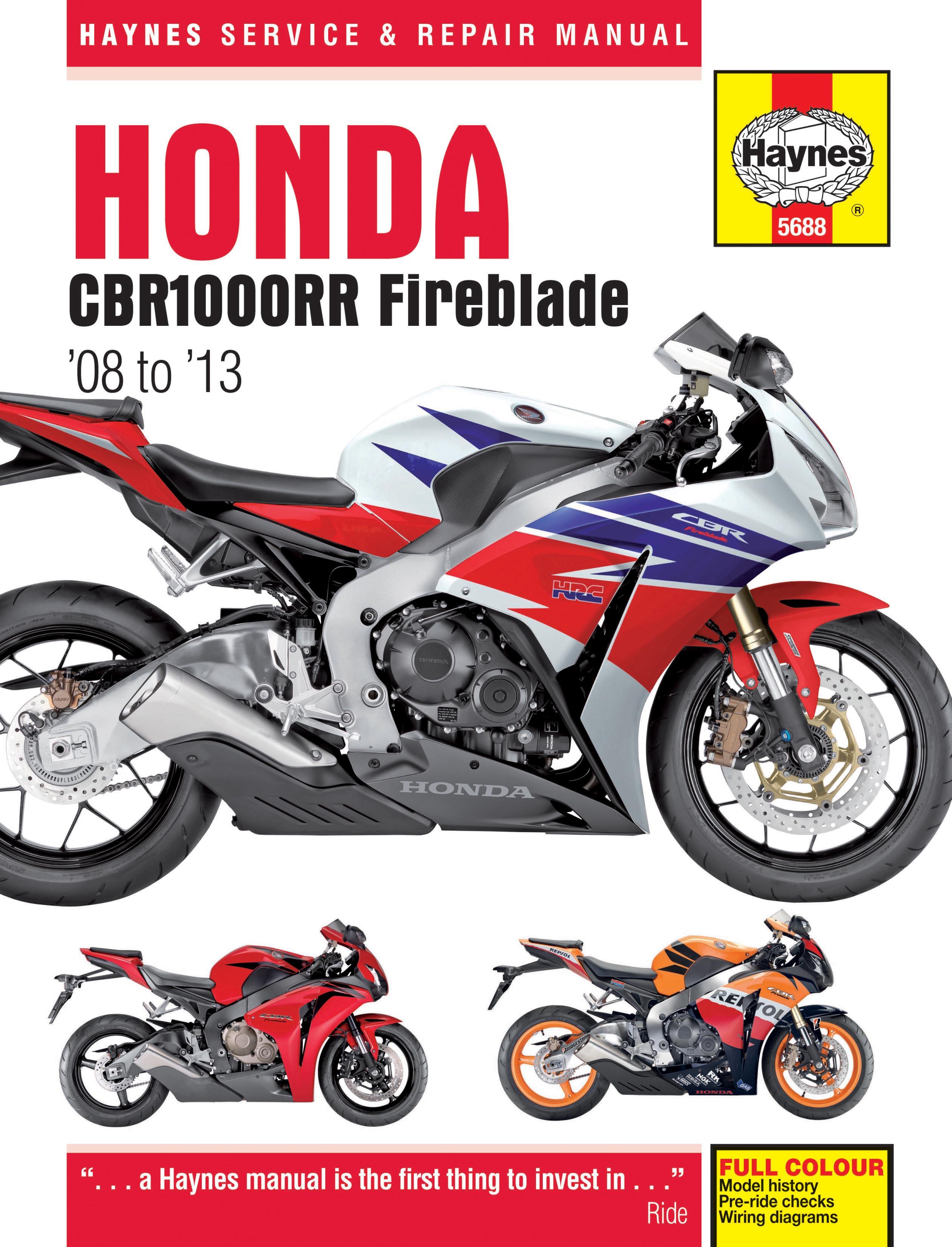 Enlarge Honda CBR1000RR ...