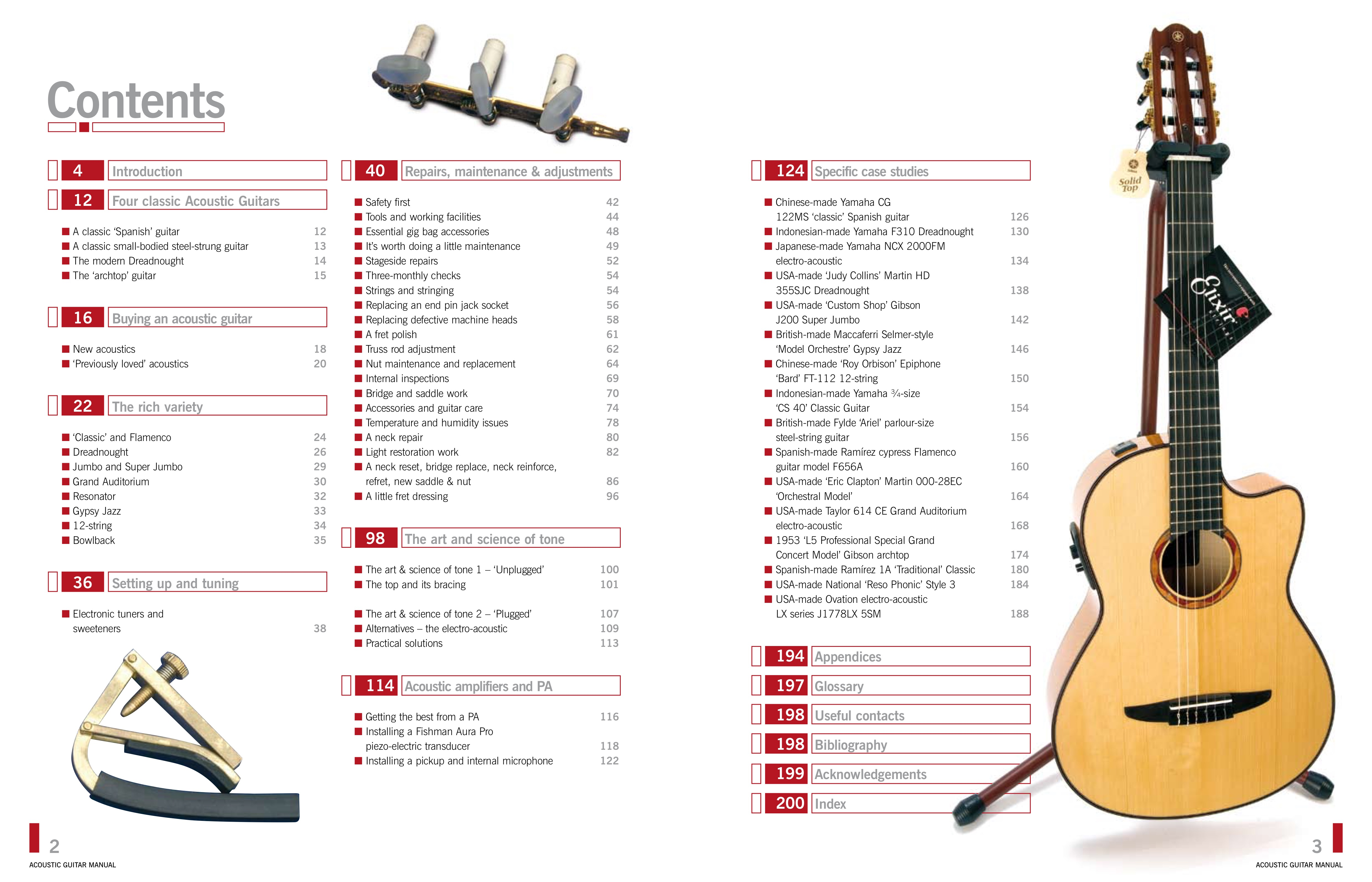 Restring An Acoustic Guitar Manual Guide