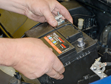Battery removal and replacement image