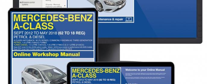 Mercedes A-Class service guide videos