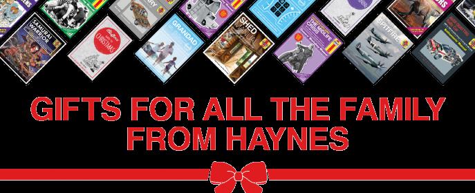 Haynes Manuals: Christmas 2020 Gift Guide
