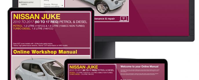 Nissan Juke service guide videos