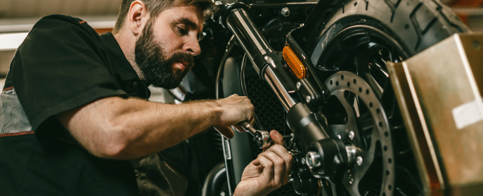 DIY motorcycle workshop essentials