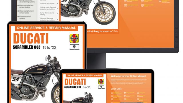 Ducati 803 Haynes manual