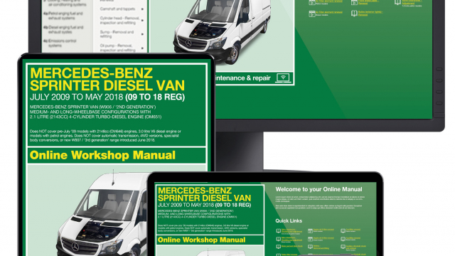 Merc sprinter Haynes manual service