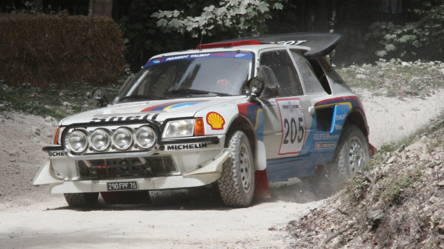 Peugeot 205 T16 Group B Rally Car
