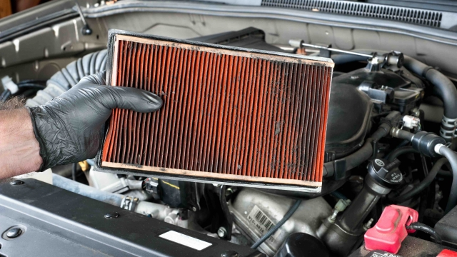 when change air filter car