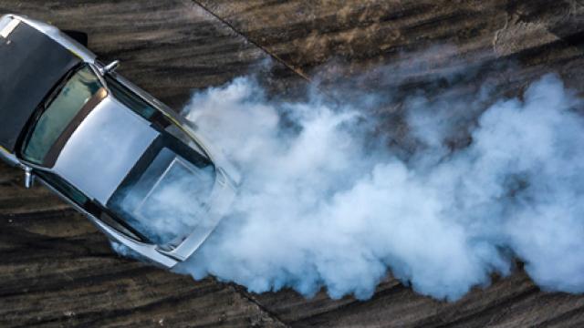 What is drifting a car?