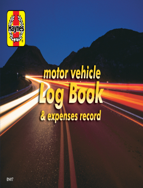 Haynes Motor Vehicle Log Book