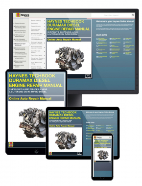 Duramax Diesel Engine for Chevrolet & GMC Trucks and Vans (01-12) Haynes Online Techbook