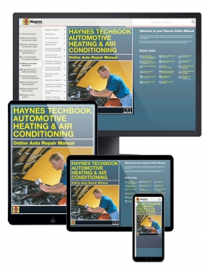 Automotive Heating and Air Conditioning Haynes Online Techbook