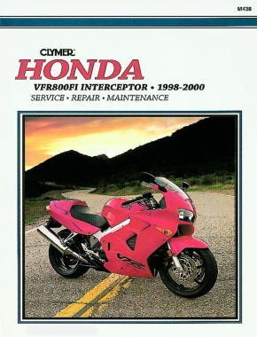 Honda VF800FI Interceptor Motorcycle (1998-2000) Service Repair Manual