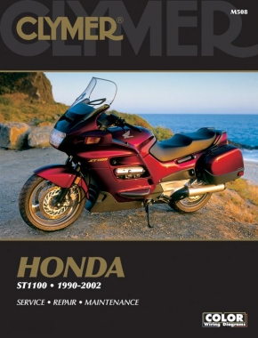 Honda ST1100/Pan European Motorcycle (1990-2002) Service Repair Manual Online Manual