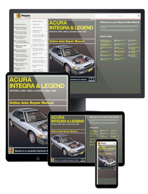 Acura Integra (86-89) & Legend (86-90) Haynes Online Manual
