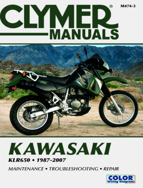 Kawasaki KLR650 Motorcycle (1987-2007) Service Repair Manual